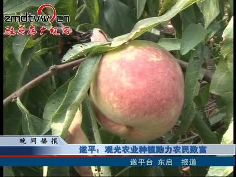 遂平:观光农业种植助力农民致富