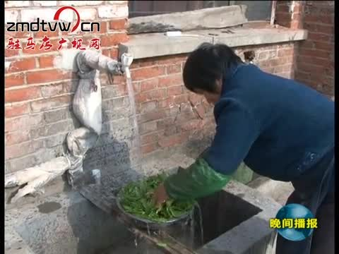 上蔡:农村饮水工程让83万农民吃上安全水