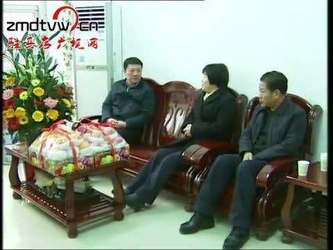 赵文峰慰问市拔尖人才刘莲芝
