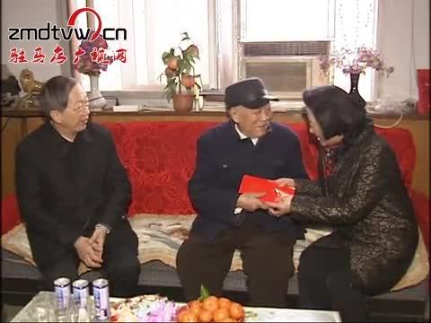 省人大常委会副主任蒋笃运一行到我市走访慰问
