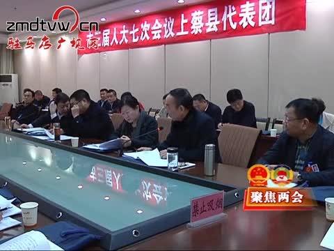 市领导分别参加审议讨论政府工作报告