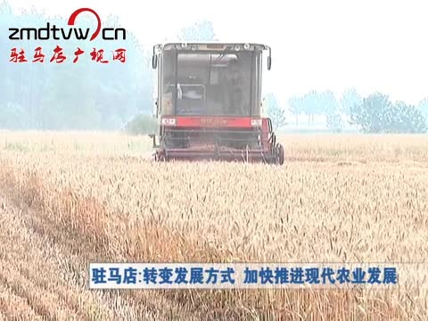 驻马店:转变发展方式 加快推进现代化农业发展