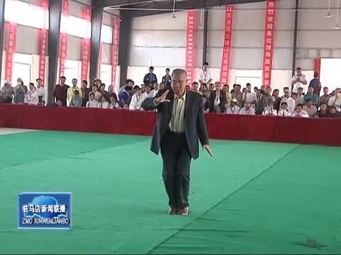 第二届全国太极拳精英赛正阳开幕