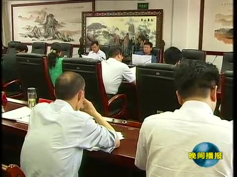 市政府召开重点项目推进会