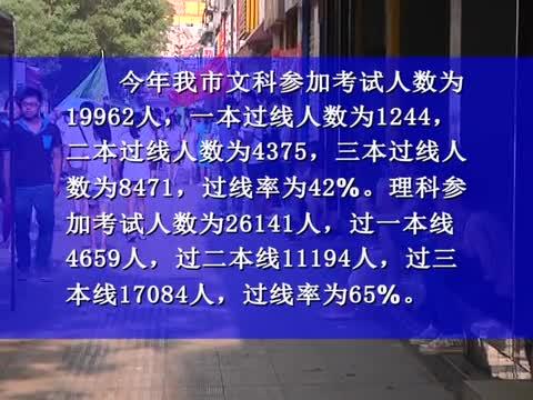 我市高考创佳绩 25555人过本科线