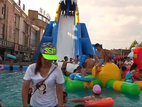 水上乐园:让留守儿童玩的嗨