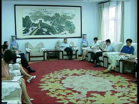 刘军莆主持召开市政协领导班子党风党纪专题民主生活会