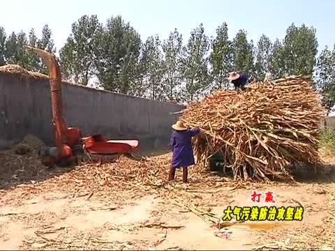 西平:回收玉米秸秆使多方受益