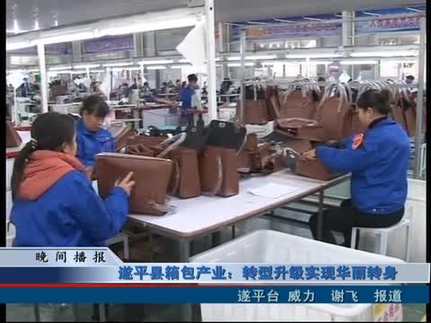 遂平县箱包产业:转型升级实现华丽转身