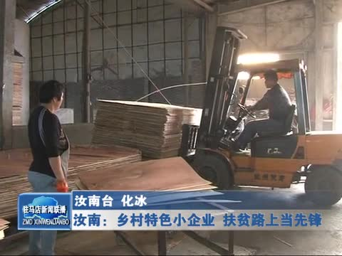 汝南:乡村特色小企业 扶贫路上当先锋