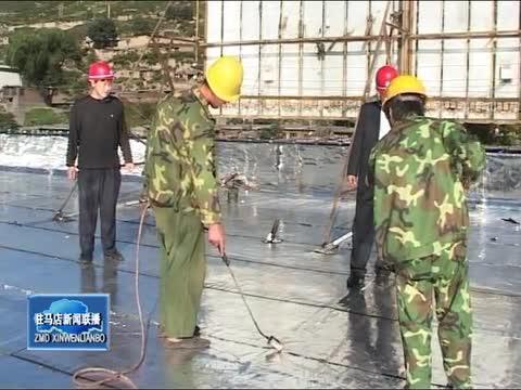 """平舆:党旗""""映红""""防水路"""