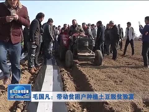 毛国凡:带动贫困户种植土豆脱贫致富