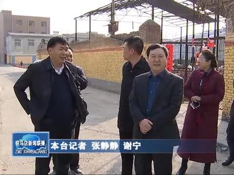 李宝清一行到市中心城区检查指导创卫工作