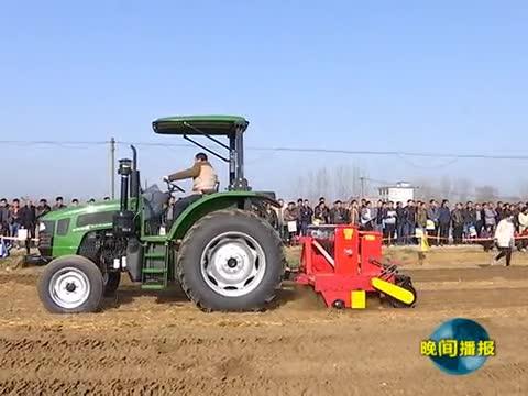 推广新型农机 助力春耕备播