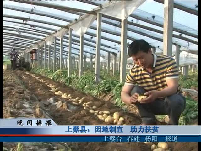 上蔡县:因地制宜 助力扶贫