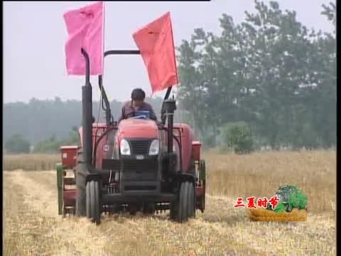 全市小麦机收面积突破96%