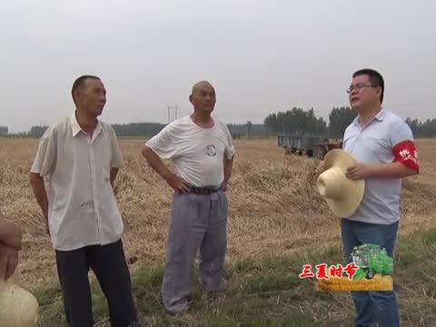 遂平:驻村第一书记助力三夏生产