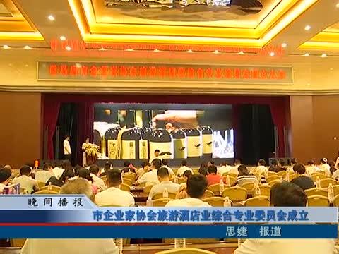 市企业家协会旅游酒店业综合专业委员会成立