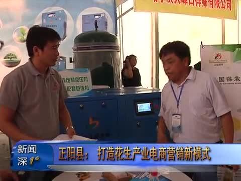 新闻深1°《正阳县:打造花生产业电商营销新模式》