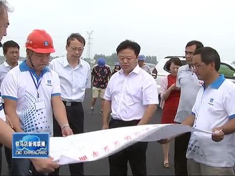陈星到市中心城区和城乡结合部查看工程建设情况