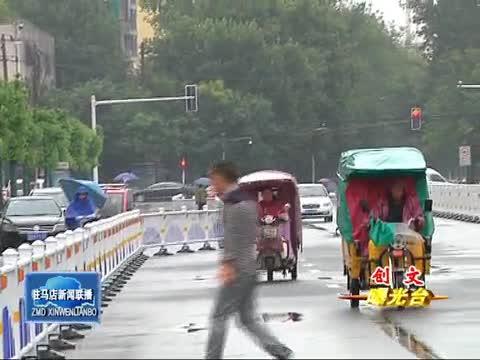 市区文化路西段存在诸多交通不文明现象