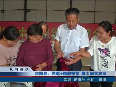 正阳县:党建 精准扶贫 聚力脱贫攻坚