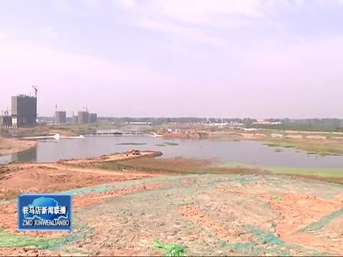 开发区小清河引水灌溉调节工程项目整体面貌已经成形