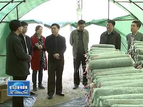 李宝清到泌阳县调研指导产业扶贫工作