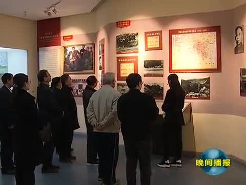 纪念朱理治书记电视片捐赠仪式在竹沟革命纪念馆举行