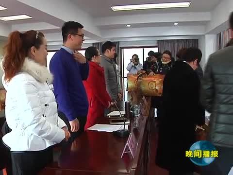 共青团驿城区委联合爱心企业开展扶贫助困活动