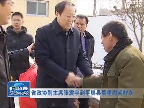 省政协副主席张震宇到平舆县看望慰问群众