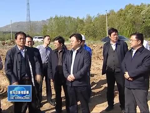 陈星实地调研指导中心城区道路连通工程项目推进情况