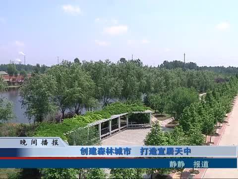 创建森林城市 打造宜居天中