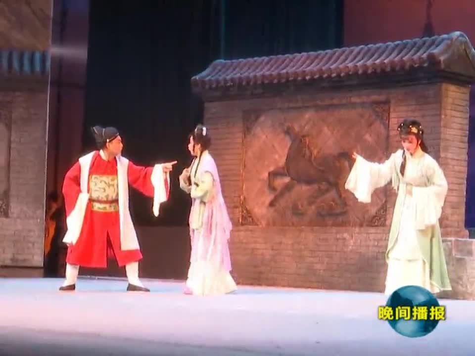 第八届黄河戏剧节昨晚在我市开幕