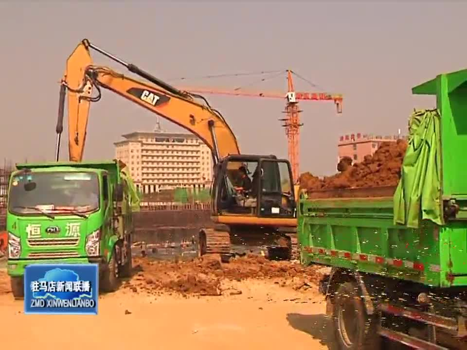 泌阳县工地和道路两侧存在严重扬尘现象