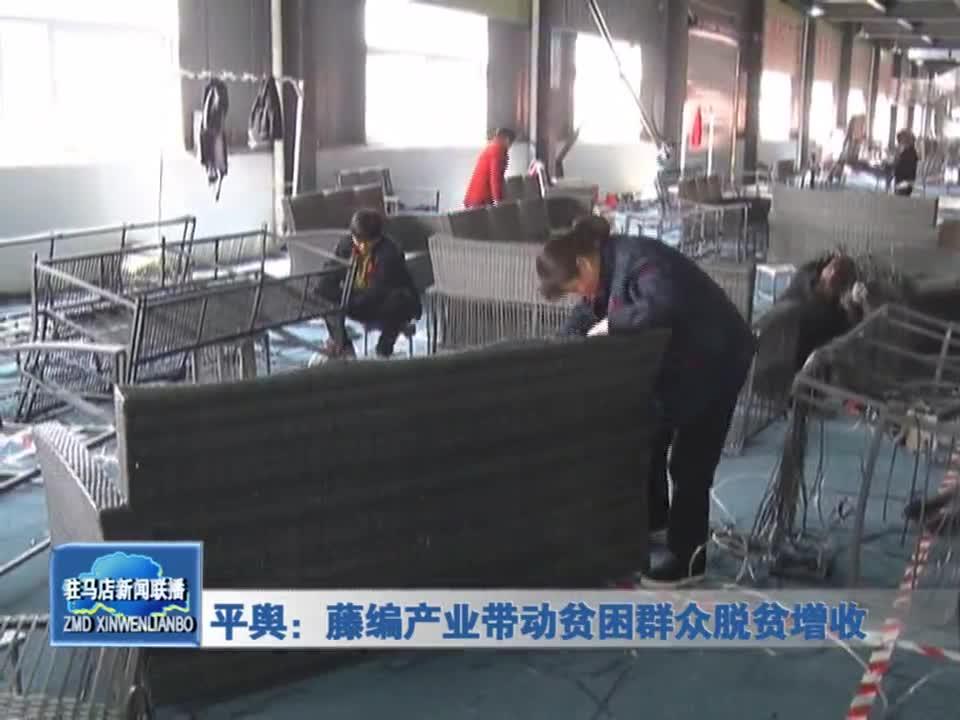 平舆:藤编产业带动贫困群众脱贫增收
