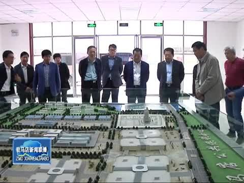 朱是西会见中国建材股份有限公司总裁彭寿一行