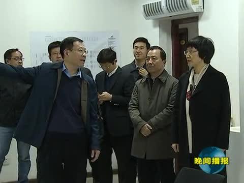 省委网信办主任郭岩松到我市调研