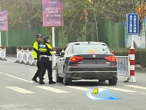 市公安局交通警察支队摩托机动大队开展整治行动巩固创文成果