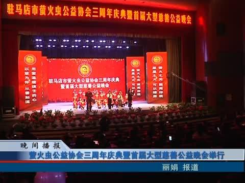 萤火虫公益协会三周年庆典暨首届大型慈善公益晚会举行