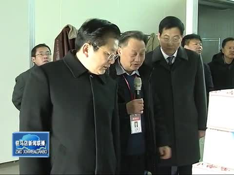 朱是西到泌阳县调研指导县域经济发展