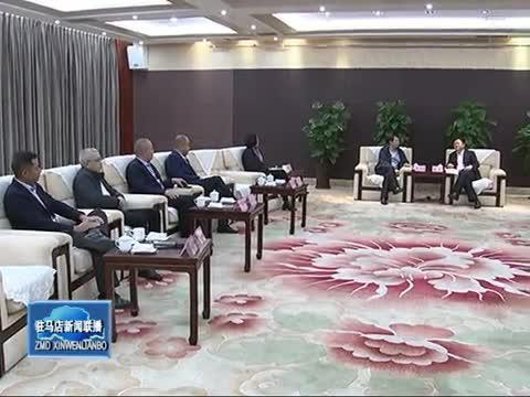 陈星会见中国调味品协会会长张玉宏一行