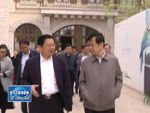 朱是西率我市考察团赴郑州航空经济综合实验区考察