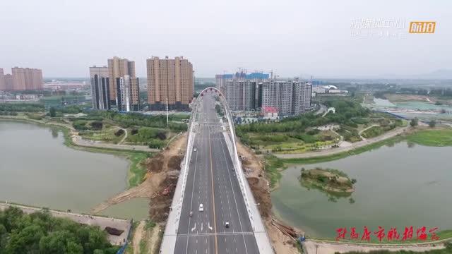 航拍《練江河大橋》