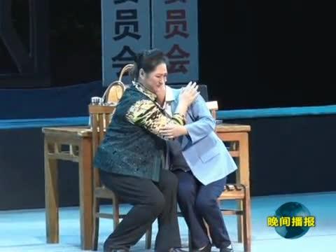 天中杯第八届黄河戏剧节演出在遂平县举行