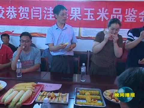 第一书记潘华 引来甜糯玉米助农富