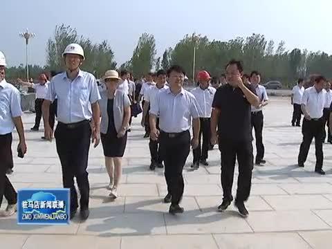 陳星到國際會展中心調研督導項目建設