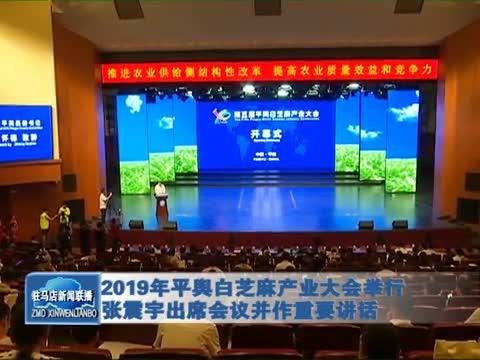 2019年平舆白芝麻产业大会举行