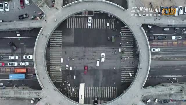 航拍《駐馬店鵬宇橋》