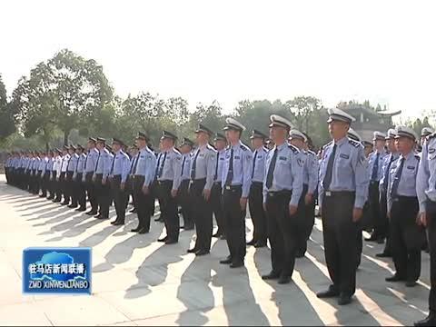 我市各单位举行庆祝新中国成立70周年升国旗仪式